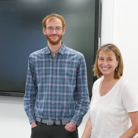 Psychotherapy and Counselling Lecturers Alister McCormick and Juliana Hopkins