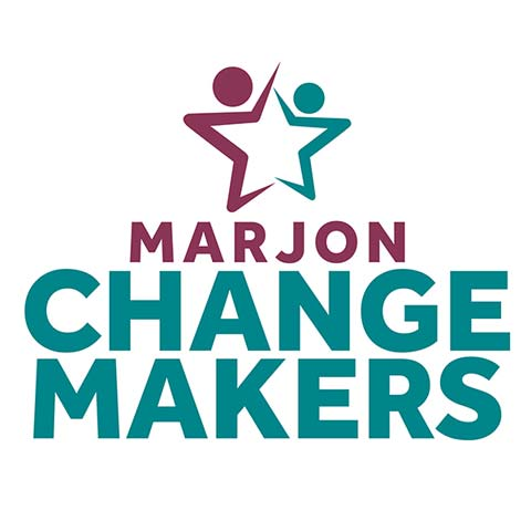 Marjon Change Makers logo