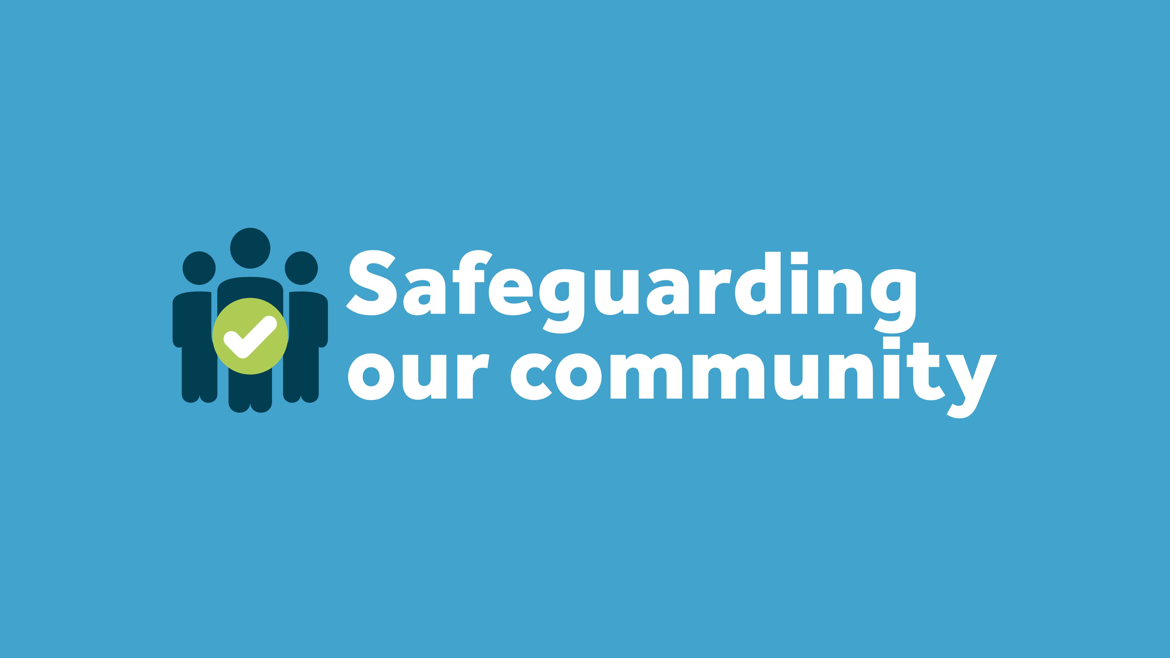 Safeguarding our community logo