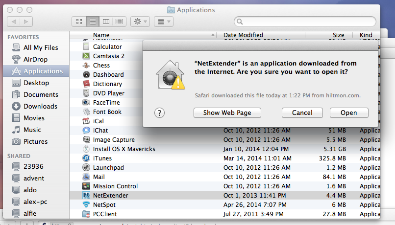 VPN for Apple Mac Load