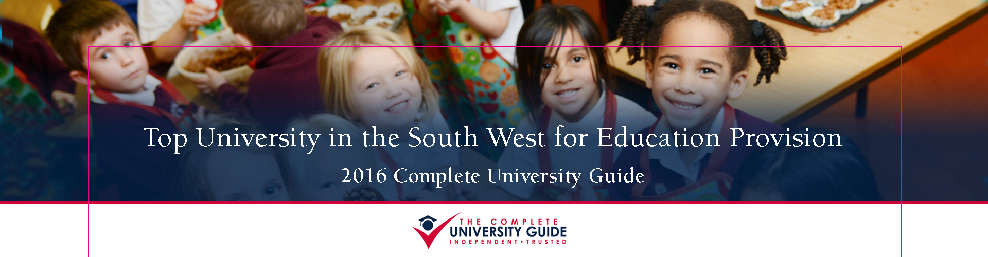 Top University in South West for Education