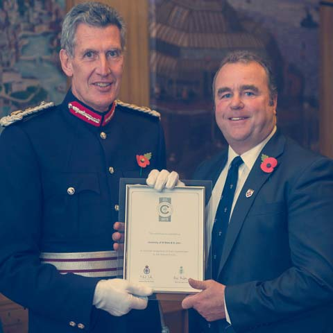 Armed Forces - Silver Defence Award