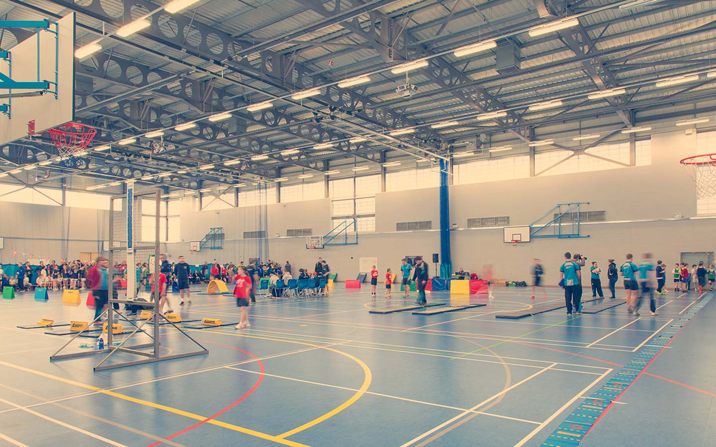 Sport Centre - Facilities & Services - Sports Halls